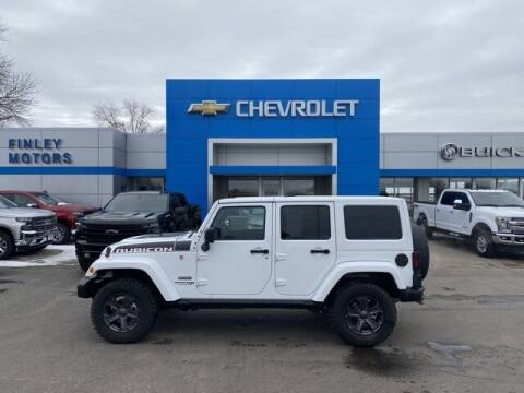 2018 Jeep Wrangler JK Unlimited for sale at Finley Motors in Finley ND
