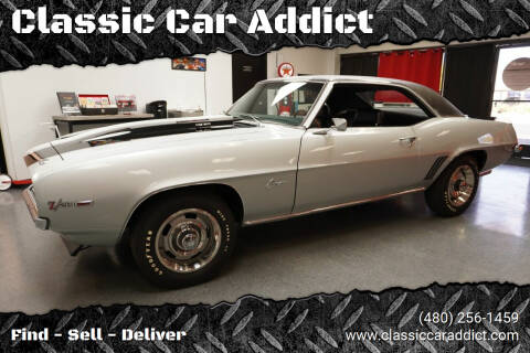 1969 Chevrolet Camaro for sale at Classic Car Addict in Mesa AZ