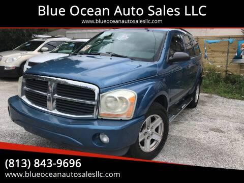 2006 Dodge Durango for sale at Blue Ocean Auto Sales LLC in Tampa FL
