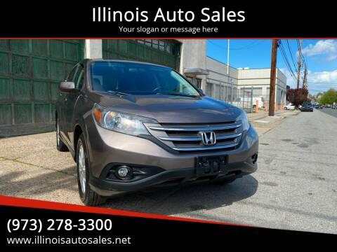 2012 Honda CR-V for sale at Illinois Auto Sales in Paterson NJ