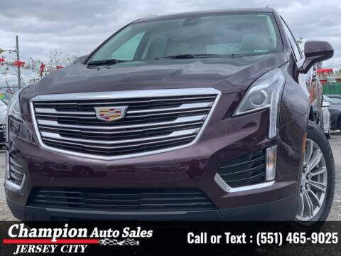 2018 Cadillac XT5 for sale at CHAMPION AUTO SALES OF JERSEY CITY in Jersey City NJ