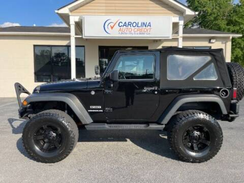 2017 Jeep Wrangler for sale at Carolina Auto Credit in Youngsville NC