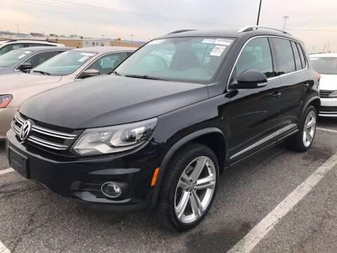 2015 Volkswagen Tiguan for sale at SILVER ARROW AUTO SALES CORPORATION in Newark NJ