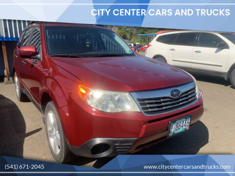 2009 Subaru Forester for sale at City Center Cars and Trucks in Roseburg OR