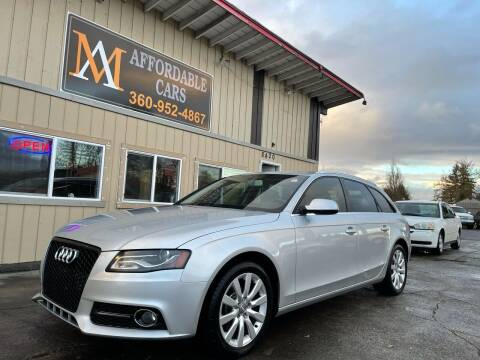 2010 Audi A4 for sale at M & A Affordable Cars in Vancouver WA