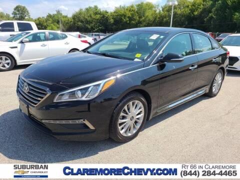 2015 Hyundai Sonata for sale at Suburban Chevrolet in Claremore OK