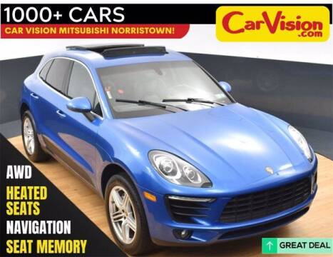 2016 Porsche Macan for sale at Car Vision Buying Center in Norristown PA