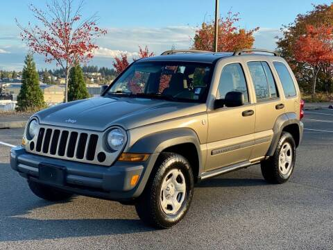 2005 Jeep Liberty for sale at Q Motors in Lakewood WA