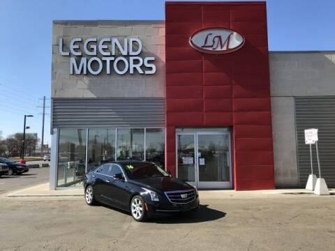 2016 Cadillac ATS for sale at Legend Motors of Detroit - Legend Motors of Ferndale in Ferndale MI