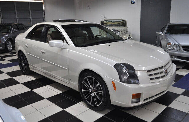 2007 Cadillac CTS for sale at Podium Auto Sales Inc in Pompano Beach FL