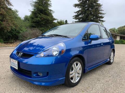 2007 Honda Fit for sale at Santa Barbara Auto Connection in Goleta CA