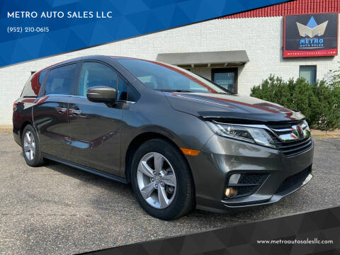2020 Honda Odyssey for sale at METRO AUTO SALES LLC in Blaine MN