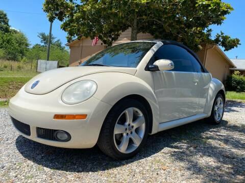 2006 Volkswagen New Beetle Convertible for sale at Efficiency Auto Buyers in Milton GA