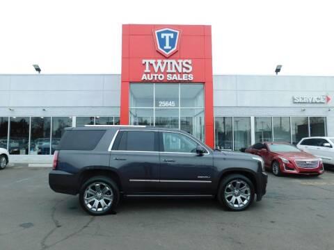 2015 GMC Yukon for sale at Twins Auto Sales Inc Redford 1 in Redford MI