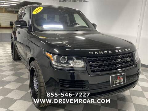 2017 Land Rover Range Rover for sale at Mr. Car City in Brentwood MD