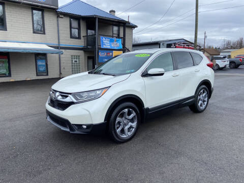 2018 Honda CR-V for sale at Sisson Pre-Owned in Uniontown PA