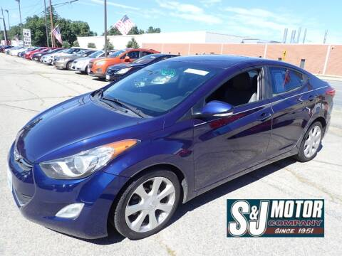 2013 Hyundai Elantra for sale at S & J Motor Co Inc. in Merrimack NH