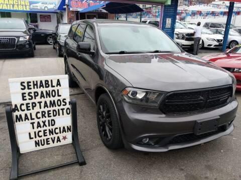 2015 Dodge Durango for sale at Cedano Auto Mall Inc in Bronx NY