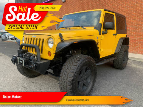 2008 Jeep Wrangler for sale at Boise Motorz in Boise ID