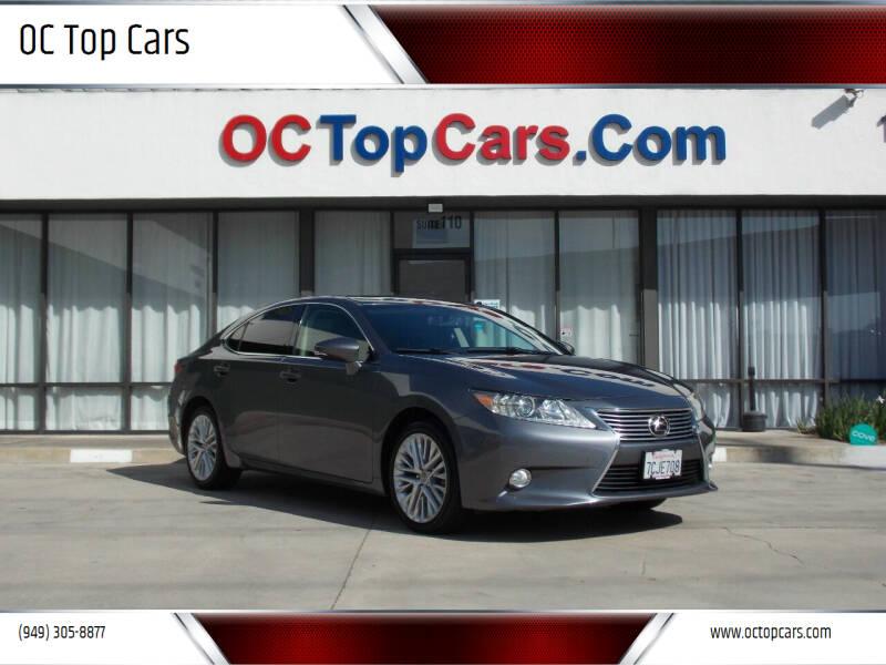 2013 Lexus ES 350 for sale at OC Top Cars in Irvine CA