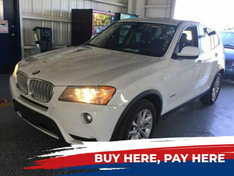 2013 BMW X3 for sale at L G AUTO SALES in Boynton Beach FL