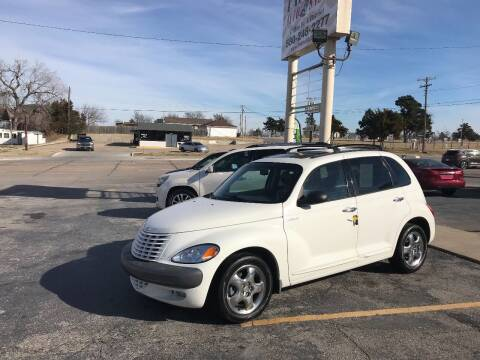 2001 Chrysler PT Cruiser for sale at Patriot Auto Sales in Lawton OK