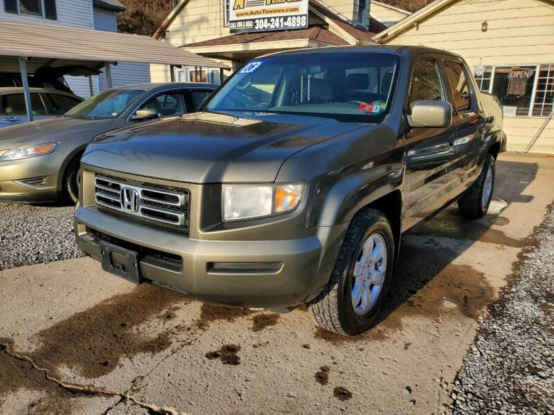 2006 Honda Ridgeline for sale at Auto Town Used Cars in Morgantown WV