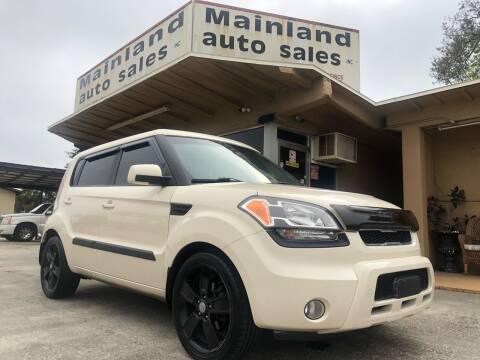 2011 Kia Soul for sale at Mainland Auto Sales Inc in Daytona Beach FL