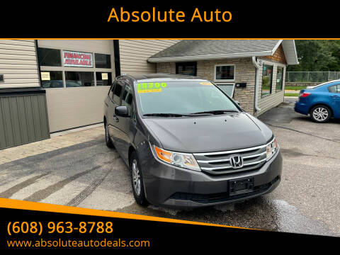 2012 Honda Odyssey for sale at Absolute Auto in Baraboo WI