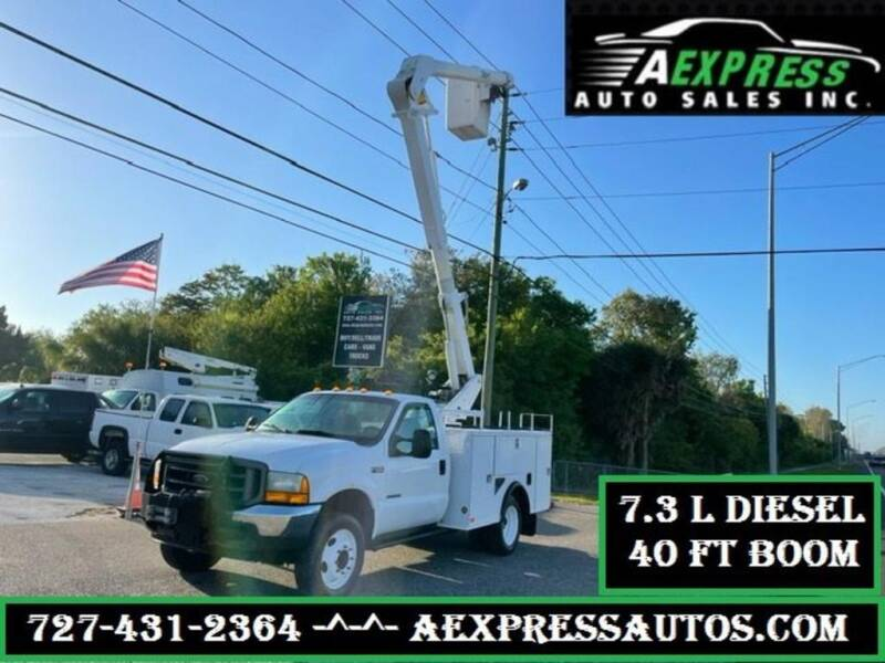 2001 Ford F-550 Super Duty for sale at A EXPRESS AUTO SALES INC in Tarpon Springs FL