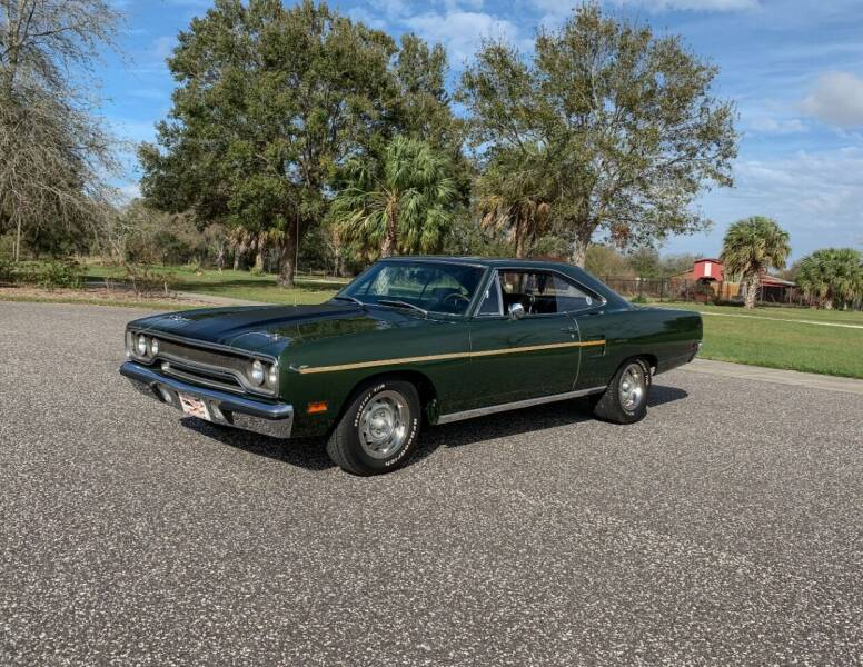 1970 Plymouth Roadrunner for sale at P J'S AUTO WORLD-CLASSICS in Clearwater FL