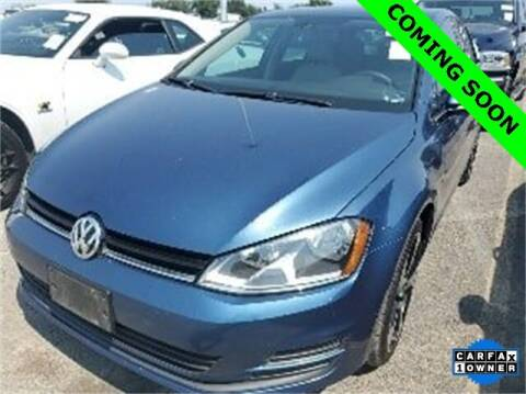 2017 Volkswagen Golf for sale at LAKESIDE MOTORS, INC. in Sachse TX
