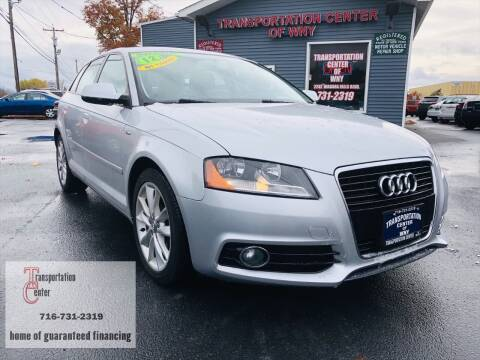 2012 Audi A3 for sale at Transportation Center Of Western New York in Niagara Falls NY