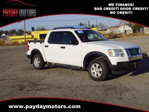 2007 Ford Explorer Sport Trac for sale at Payday Motors in Wichita And Topeka KS