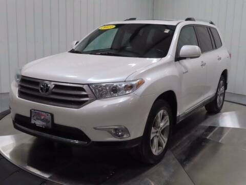 2013 Toyota Highlander for sale at HILAND TOYOTA in Moline IL