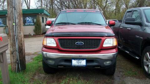 2001 Ford F-150 for sale at Griffon Auto Sales Inc in Lakemoor IL
