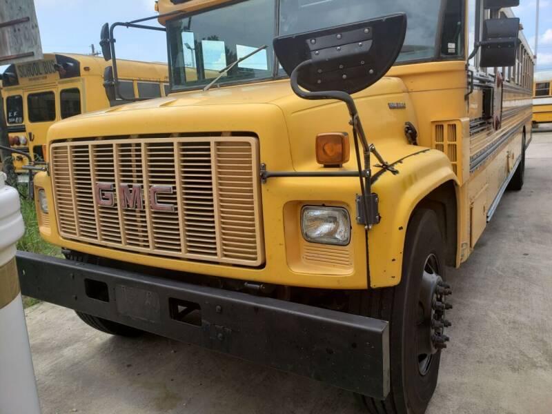 1999 GMC BLUEBIRD for sale at Interstate Bus Sales Inc. in Wallisville TX