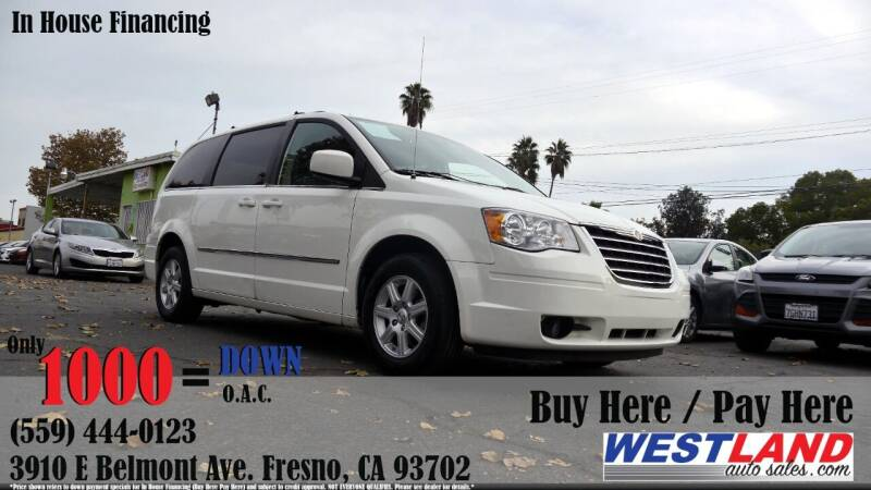 2010 Chrysler Town and Country for sale at Westland Auto Sales in Fresno CA