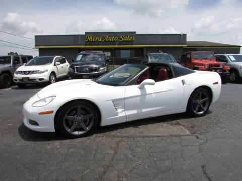 2005 Chevrolet Corvette for sale at MIRA AUTO SALES in Cincinnati OH