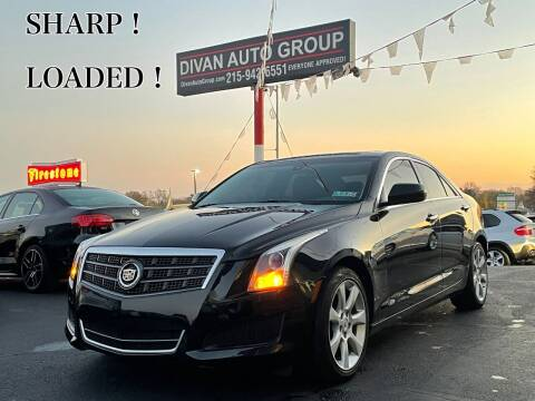 2013 Cadillac ATS for sale at Divan Auto Group in Feasterville PA