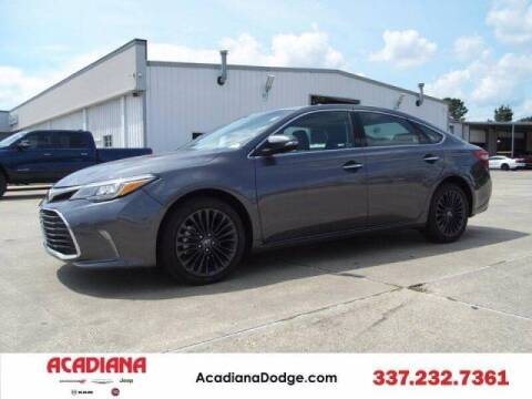 2018 Toyota Avalon for sale at Acadiana Automotive Group - Acadiana DCJRF Lafayette in Lafayette LA