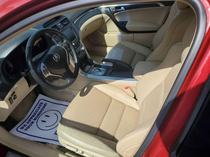 2008 Acura TL 4dr Sedan w/Navigation - Escondido CA