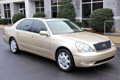 2002 Lexus LS 430 for sale at Weaver Motorsports Inc in Cary NC