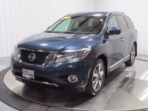 2015 Nissan Pathfinder for sale at HILAND TOYOTA in Moline IL