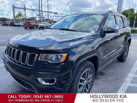 2018 Jeep Grand Cherokee for sale at JumboAutoGroup.com in Hollywood FL