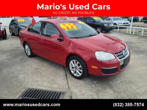 2010 Volkswagen Jetta for sale at Mario's Used Cars - South Houston Location in South Houston TX