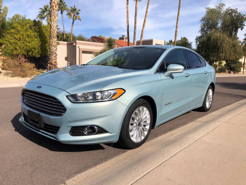 2013 Ford Fusion Hybrid for sale in Scottsdale, AZ