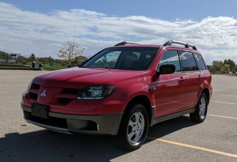 2003 Mitsubishi Outlander for sale at Budget City Auto Sales LLC in Racine WI