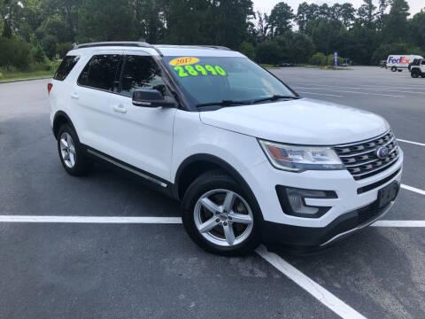 2017 Ford Explorer for sale at J. MARTIN AUTO in Richmond Hill GA