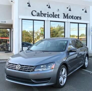 2015 Volkswagen Passat for sale at Cabriolet Motors in Morrisville NC